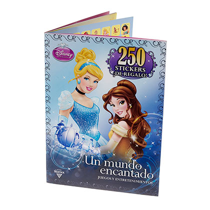 LIBRO DISNEY LIBRO STICKERS PRINCESAS