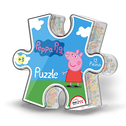 JUGUETE PRIMERA INFANCIA MAGIC MAKERS PIG104 PUZZLE PEPPA PIG