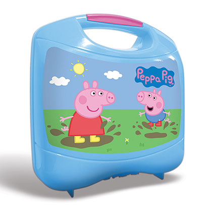 JUGUETE PRIMERA INFANCIA MAGIC MAKERS PIG131 LUNCHERA PEPPA PIG