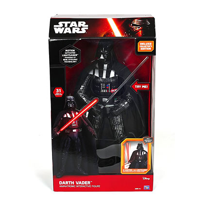 JUGUETE STAR WARS DARTH VADER FIGURA ELECTRONICA