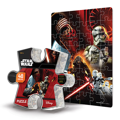 JUGUETE DE VARON MAGIC MAKERS SW7104 PUZZLE STAR WARS