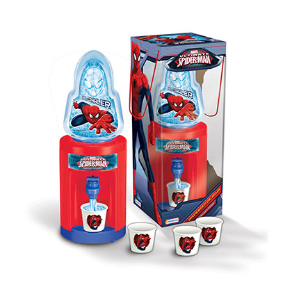JUGUETE PARA VARON TAPIMOVIL VSP03237 DISPENSER AGUA SPIDERMAN