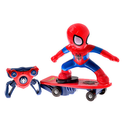 Juguete Spiderman SPM304 Skateboard