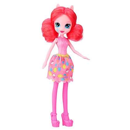 Juguete My Little Pony B6128 Equestria Girls Pinkie Pie