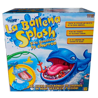 Juguete Next Point 1315 Splashy Ballena