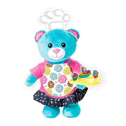 Juguete Spin Master 90302 Furry Fashions Baking Bear