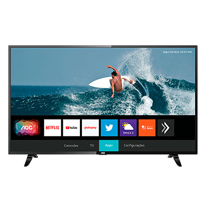 Tv Led Smart 32S5295/77G HD AOC