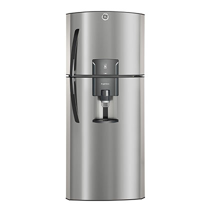 Heladera No Frost Con Dispenser 400 Lts. GE Appliances RGP400FGRU Inox