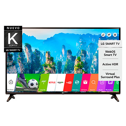 "Tv Smart Led 43"" Full Hd Bluetooth LG 43LK5700"