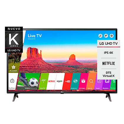 "Tv Led Smart 43"" 43UK6300 UHD 4K LG"