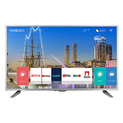 "Tv Smart Led 55"" Ultra HD 4K Bluetooth Noblex DJ55X6500"