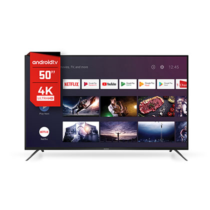 "TV Smart Led 50"" Ultra Hd 4K Android Control Por Voz Hitachi CDH-LE504KSMART20"