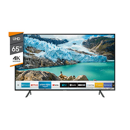 "Tv Smart Led 65"" Ultra Hd 4K Bluetooth Samsung UN65RU7100"