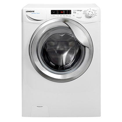 Lavarropas Automático A++ Sensitive Touch 8 Kg 1200 Rpm Longvie L18012C Blanco/Cromo