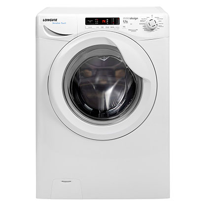 Lavarropas Automático A++ Sensitive Touch 8 Kg 1200 Rpm Longvie L18012 Blanco