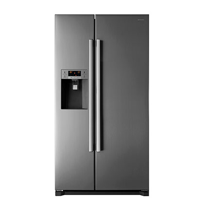 Heladera No Frost Side By Side Dispenser Display Smart 540 Lts. Kelvinator KV70SBS Inox