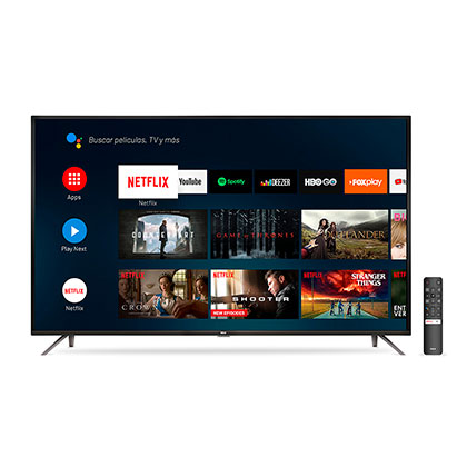 "Tv Smart Led 55"" Ultra Hd 4K Android Bluetooth Control Por Voz Rca X55ANDTV"