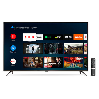 "Tv Smart Led 50"" Ultra Hd 4K Android Bluetooth Control Por Voz Rca X50ANDTV"