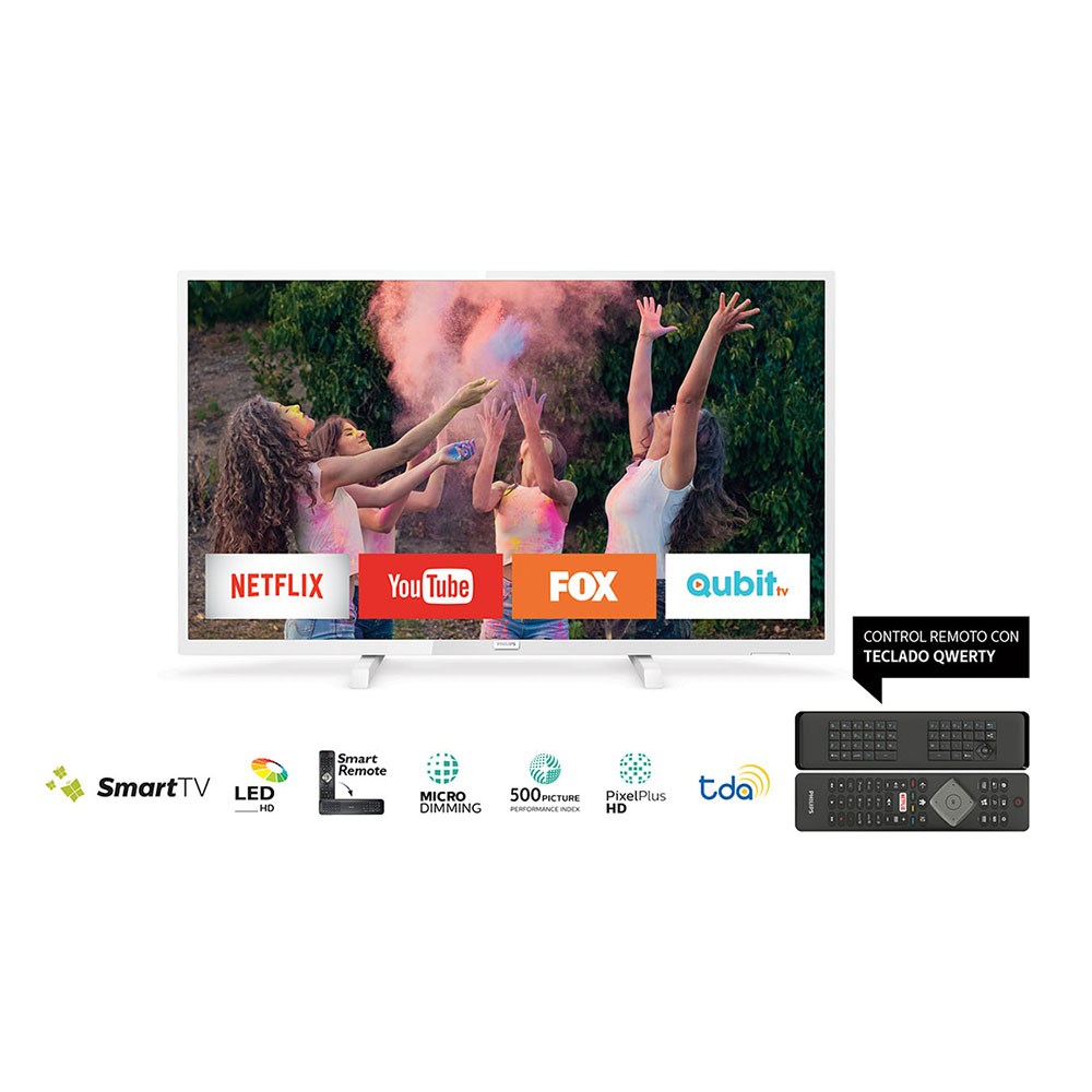 "Tv Smart Led 32"" HD Philips 32PFG5833/77 Blanco"