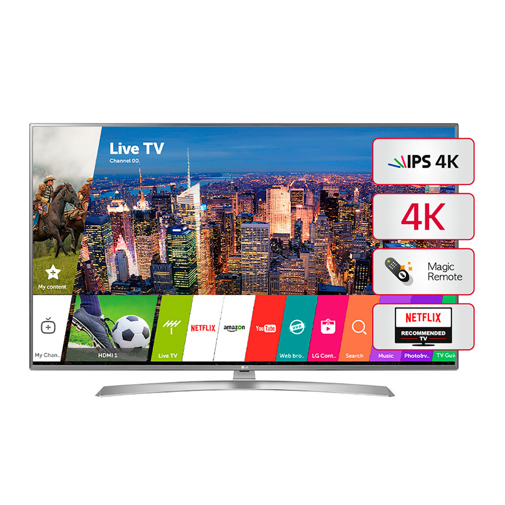 "Smart Tv Led 60"" 4k Uhd LG 60UJ6580"