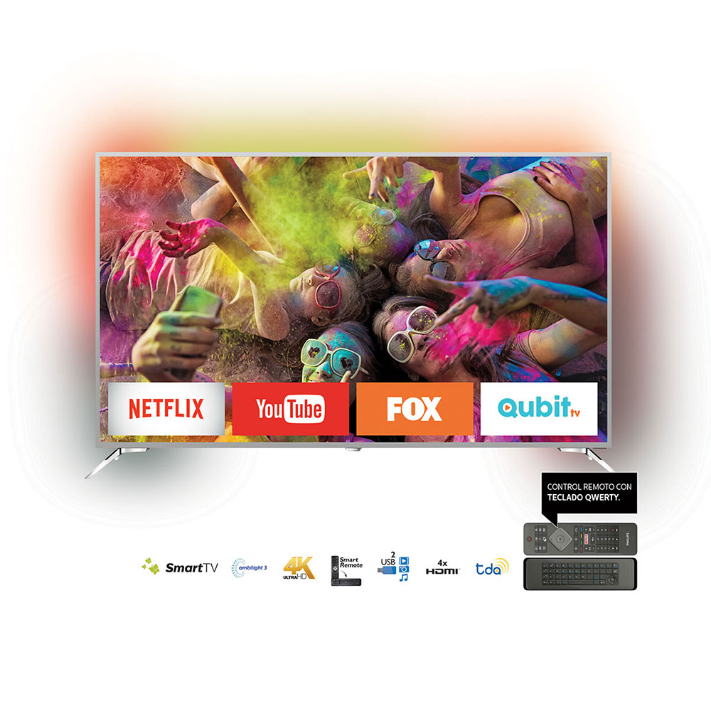 "SMART TV LED 75"" 4K UHD PHILIPS 75PUG8502/77"