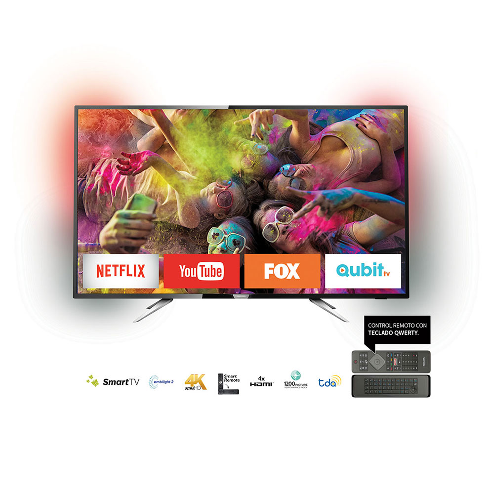 "Smart Tv Led 55"" 4k Uhd Philips 55PUG6212/77"