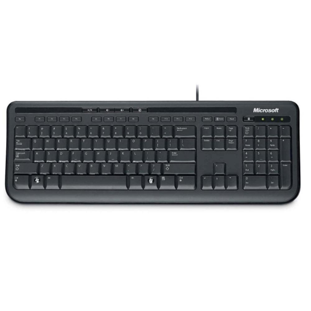 Teclado de Microsoft Wired Keyboard 600 ANB-0004