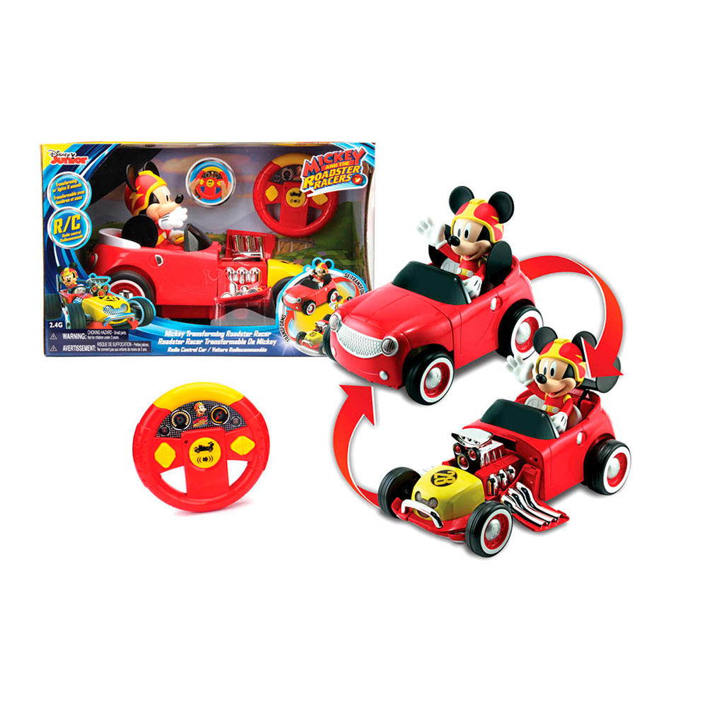 Juguete Mickey MIC301 Auto Transformable