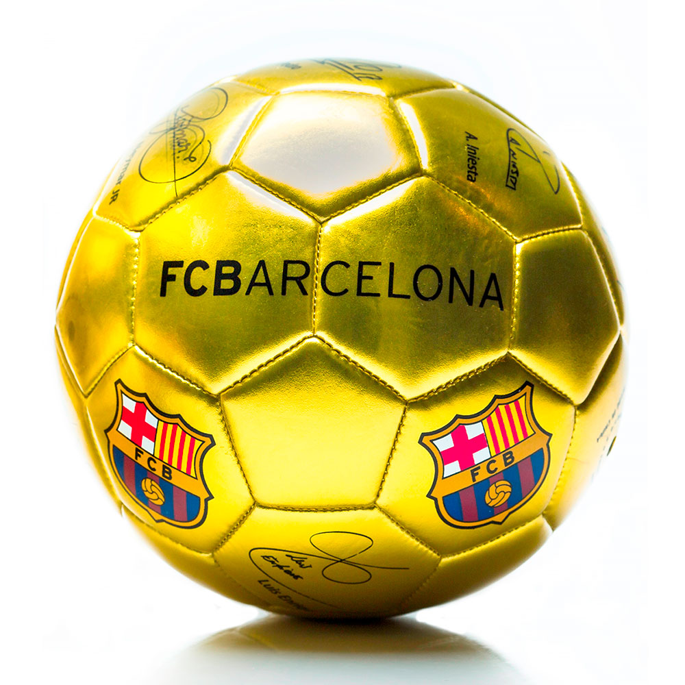 Juguete Sorma N2 Barcelona Pelota Chica Dorada - Ribeiro.com.ar 821cc871e3270