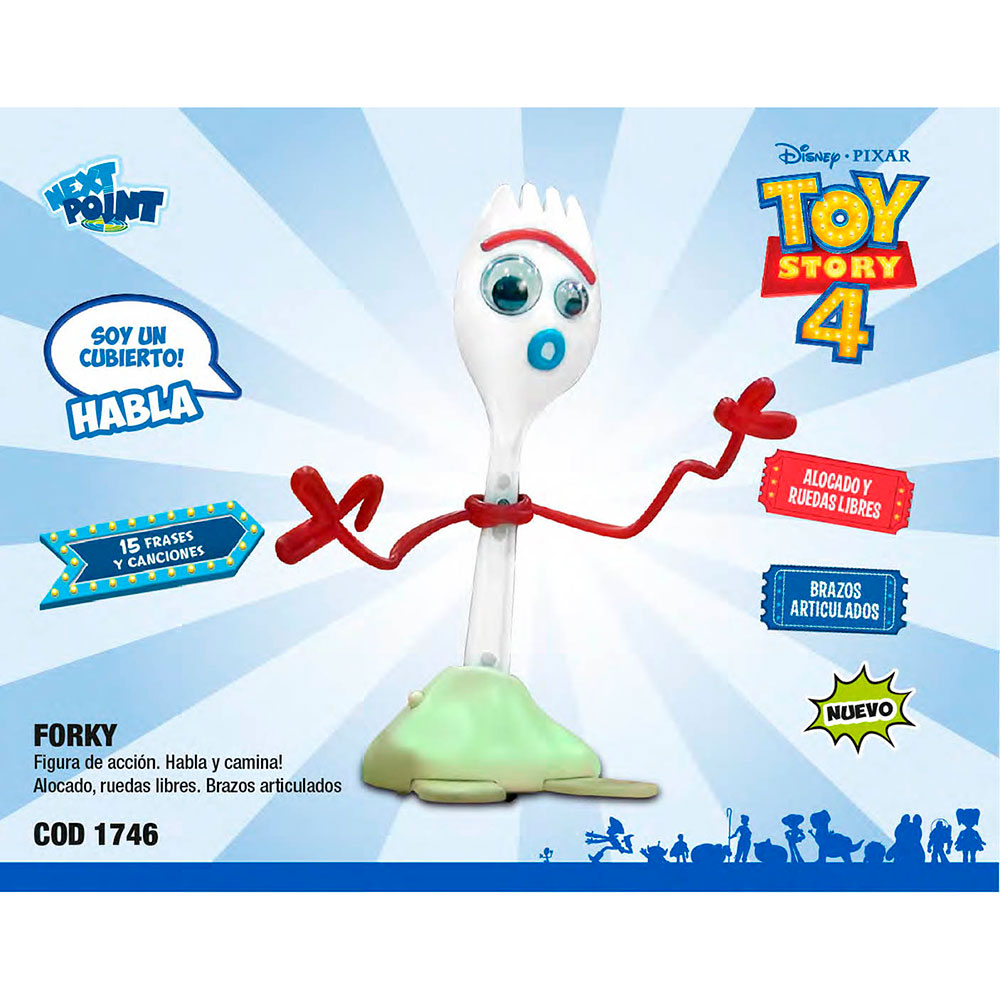 64460 TOY STORY FORKY talking action