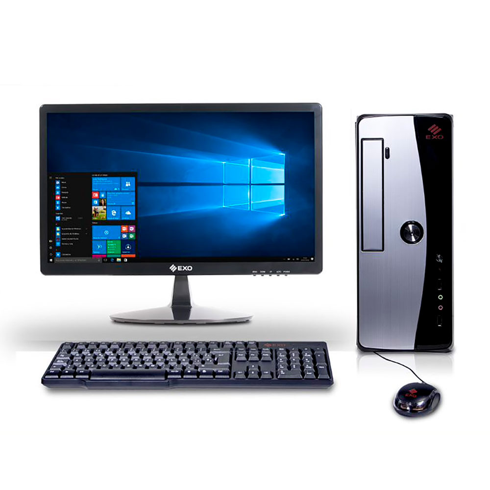 "PC EXO H7-V3145 + monit 18.5"" 4GB 500GB"