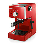 CAFETERA EXPRESSO PHILIPS HD8323/16 POEMIA SAECO ROJO