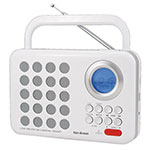 RADIO KEN BROWN DX555 BLANCA