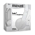 AURICULARES MAXELL SOLID2 SMS-10 BLANCO