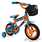 BICICLETA RODADO 12 UNIBIKE CARTOON POP VARON