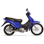 MOTOCICLETA MOTOMEL BASE 110CC AZUL