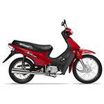 MOTOCICLETA MOTOMEL BASE 110CC ROJA