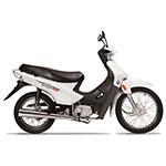 MOTOCICLETA MOTOMEL BLITZ B1 110CC BLANCA