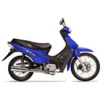 MOTOCICLETA MOTOMEL BLITZ FULL 110C AZUL