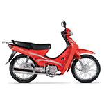 MOTO MOTOMEL DLX 110 ROJO