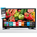 "SMART TV LED 32"" HD SAMSUNG UN32J4300AG NETFLIX"