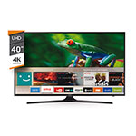 "SMART TV LED 40"" UHD SAMSUNG UN40JU6000"