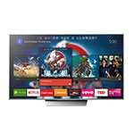"SMART TV LED 55"" 4K SONY XBR-55X855D ANDROID TV / NETFLIX"