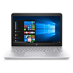 NOTEBOOK HP 14-BK105LA PLATEADO