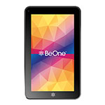 TABLET BE ONE B76 BETA CASE NEGRO CON FUNDA ROSA