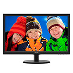 MONITOR PHILIPS 223V5LHSB2 NEGRO
