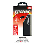 CARGADOR EVEREADY POWERBANK NEGRO
