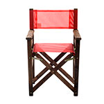 SILLON PLEGABLE DE DIRECTOR MAKENNA 10032 ROJO