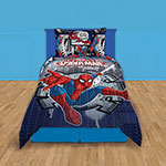 QUILT 1 1/2 PLAZAS PIÑATA SPIDERMAN WALL