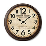 RELOJ DE PARED NEW BROWN